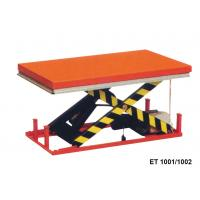 Wholesale 1000 Kg Vertical Electric Motorcycle Lift Table Mini Scissor For Cargo from china suppliers