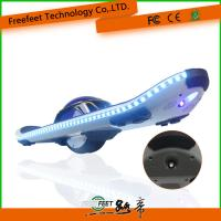 Quality Electric Scooter Hoverboard With Bluetooth Remote 6.5 Inch Blue Skateboard For Adult for sale