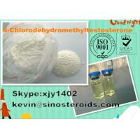 Wholesale 4-Chlorodehydromethyltestosterone 2446-23-3  Safe White Powders For Bodybuilding from china suppliers