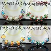 Wholesale Pandora Beaded Jewelry-925 Sterling Silver-Bangles-Bracelets-Necklaces-Imitation Jewelry from china suppliers