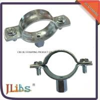 Wholesale Carbon Steel Material Galvanized Pipe Clamp Fittings Standoff Pipe Clamps from china suppliers