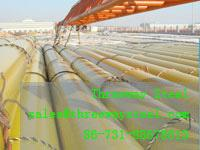 Buy cheap 21.3mm - 610mm ERW Steel tube Welded Steel Pipes from wholesalers
