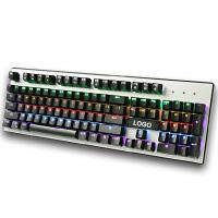 Wholesale Wired RGB mechanical gaming keyboard for Desktop , Laptop with CE / ROHS / FCC from china suppliers