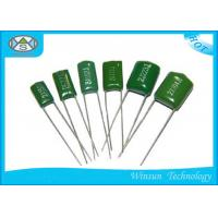 Wholesale Lightweight CL11 Metallized Polyester Film Capacitor Green 100V - 630V Capacitor from china suppliers
