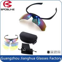 Wholesale UV400 Protection 5 Lens Interchange Outdoor Polarized Sport Sunglasses FDA from china suppliers
