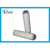 Wholesale 10 Inch PES Pleated 0.1 Micron Filter Cartridge Darlly Filtration For Chemical from china suppliers