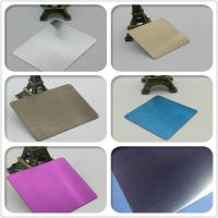 Wholesale color stainless steel sheets Grade 201 and 304 Dimensions 1220mm x 2440 mm from china suppliers