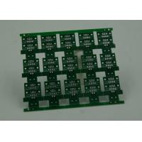 Wholesale RoHS HASL 4 Layer Rigid PCB Board Fabrication Finish Green Solder Mask from china suppliers