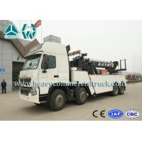 Wholesale T7H Diesel 8X4 Wrecker Tow Truck Heavy Duty Wireless Remote Control from china suppliers