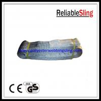 Wholesale 4T Polyester Webbing Lifting Belt Sling with Flat / Reversed / Folded eye En 1492-1 from china suppliers
