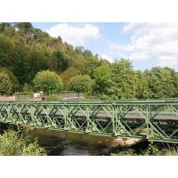 Quality CB100 321 Modular Steel Bridges Q345B Steel Painted Hot Dipped Galvanized for sale