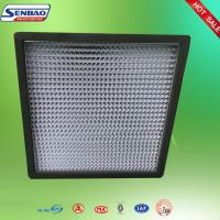 Wholesale H13 H14 Operating Room Air Purifier Hepa Filter 0.3 Micron Pleated Panel from china suppliers