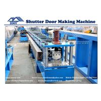 Wholesale Roller Shutter Door Roll Forming Machine 0.6-1.2MM Thickness from china suppliers