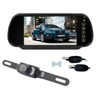 Wholesale Wireless 7 Inch LCD 12V Night Vision Wireless Car Reversing Camera System Rearview Camera from china suppliers