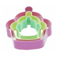 Quality 3 Cupcake Shaped Cookie Cutters for sale