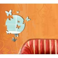 Wholesale CM-069 Novelty Acrylic Wall Mirror Sticker for Home Decoration from china suppliers