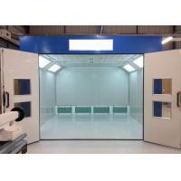 Wholesale 4M Tempered Glass Industrial Spray Booth Downdraft Energy Saving For Workshop from china suppliers