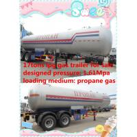 Wholesale hot sale 17 metric tons double BPW/FUWA axles lpg gas tank trailer, best price 17tons propane gas tank semitrailer from china suppliers