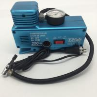 Wholesale AC110 - 230V and DC12V Plastic Vehicle Air Compressor with Gauge from china suppliers