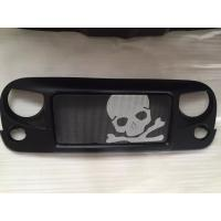 Wholesale Jeep Jk Wrangler Spartan Grille_Skull Material: ABS Plastic from china suppliers