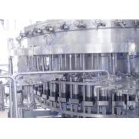 Wholesale 3 In 1 Carbonated Soft Drinks Beverage Filling Machine In Pet / Plastic Bottle from china suppliers