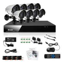 Wholesale 8 CH BNC DVR Surveillance System RS485 , RJ45 Support Remote Control from china suppliers