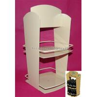 Wholesale 2-Layer Stationery Metal Display Racks Powder Coated For Shops / Supermarkets from china suppliers