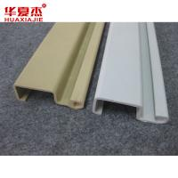 Wholesale Strong and Durable WPC Composite Slotwall Planks to Decorate Garage from china suppliers