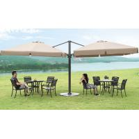 Wholesale Modern Duplex Roman Free Standing Patio Umbrella Set , Large Cantilever Parasol from china suppliers
