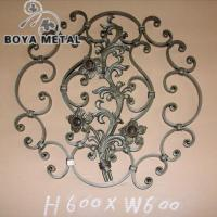 Quality Wrought Iron Scroll Panel for sale