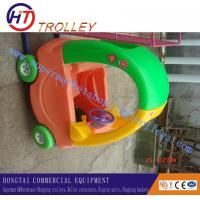 Wholesale Grocery Store Children Metal Shopping Trolley , Small Retail Shopping Carts from china suppliers