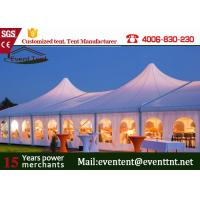 Wholesale Folding Camping Tent White , High Peak Tension Tents With Roof Top Waterproof from china suppliers