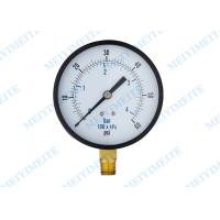 "Wholesale 100mm Bottom hydraulic pressure gauge with brass internals with 1/4"" connector from china suppliers"