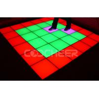 Wholesale 40W interactive Portable Led Dance Floor Color Change Stage lighting from china suppliers