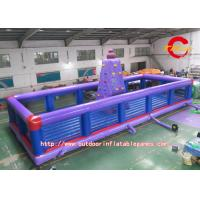 Wholesale Kids PVC Inflatable Rock Climbing Model 20ft For Outdoor Exercise from china suppliers