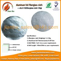 Buy cheap Aluminum foil fiberglass cloth as air conditioning insulation material from wholesalers