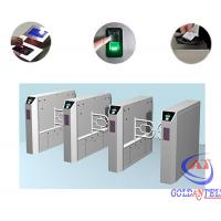Wholesale Stainless Steel Customizable Special Logo Bidirectional Swing Barrier Gate / Automatic Turnstile from china suppliers