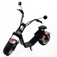 Quality 60V/12Ah Front Rear Hydraulic Disc Brake Citycoco 2 Wheel Electric Scooter for sale