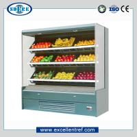 China Vegetable&fruit refrigerator showcase , grocery store type, plug-in on sale