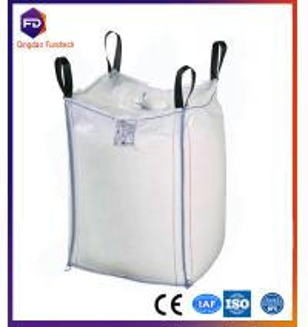 Quality 1 ton pp jumbo bag for cement FIBC bag low price big ton fibc jumbo bulk woven bag for sale