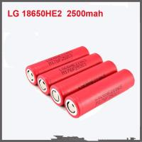 Wholesale Authentic 18650 Rechargeable Battery 3.7v 35A 2500mah E-cig Batteries for LG from china suppliers