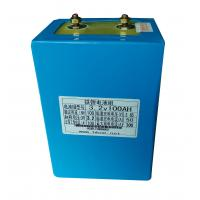 Wholesale 100Ah Li - polymer Battery Module , 3.2V Lithium Iron Batteries In Compact Size from china suppliers