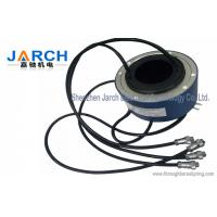 Wholesale Lead free100mm through bore electrical slip ring / miniature slip ring Max speed:500RPM from china suppliers