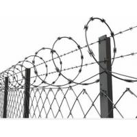 Wholesale Concertina Barbed Wire with Galvanized Zinc Coated Chain Link Fence for High Security from china suppliers