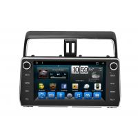 Buy cheap Auto Double Din Toyota Car Stereo Navigation System Prado 2018 Built in Mirror Link from wholesalers