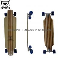 Quality 38*9.85 Inch professional Longboard with En13613 Certification Bamboo Skateboard Ld-179 for sale