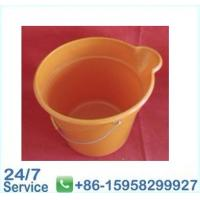 Wholesale Orange water flexible plastic bucket rubbish bin with OEM and ODM -BN6076 from china suppliers
