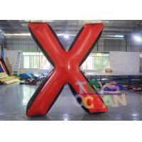 Wholesale Team Game Inflatable Paintball Bunkers Inflatable Archery Tag Large X Shooting Bunker from china suppliers