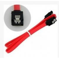 Buy cheap SATA 30 AWG Thin 0.5m/1m  flat SATA 3Gbps Data 7-Pin Cable with Latch from wholesalers