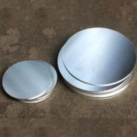 Wholesale Round Shaped Anodized Aluminum Plate , Round Metal Disk  0.4-6.0mm Thickness from china suppliers
